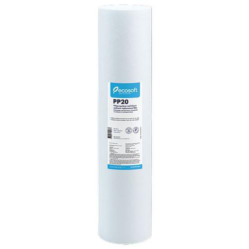 купить Картридж из вспененного полипропилена Ecosoft 4,5х20'' 20 мкм в Кишинёве