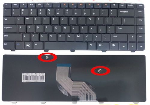 купить Keyboard Dell Inspiron N3010 N4010 N4020 N4030 M5030 N5030 ENG. Black в Кишинёве
