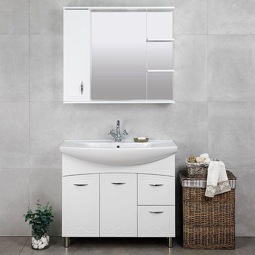 купить Deco One Шкаф-зеркало белый 970 L в Кишинёве