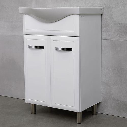 купить Allure Шкаф белый дуо с умывальником Alba 540 в Кишинёве