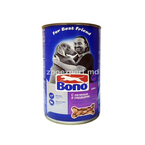 купить Bono с печенью и сердцами 1250 gr в Кишинёве