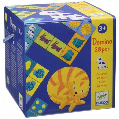 """купить Домино """"Pазноцветные животные"""", DJECO в Кишинёве"""