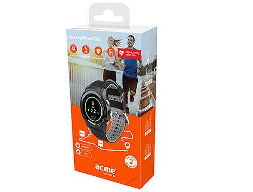 "купить Acme HR SW301 Smartwatch, 1.30"" TFT IPS Color Display, Li-ion, Active GPS, Accelerometer, Pedometer, Hear Rate monitor, Altimeter, Barometer, Touch Screen, Water-resistant IP66, Bluetooth 4.0 (smart band / смарт браслет) www в Кишинёве"