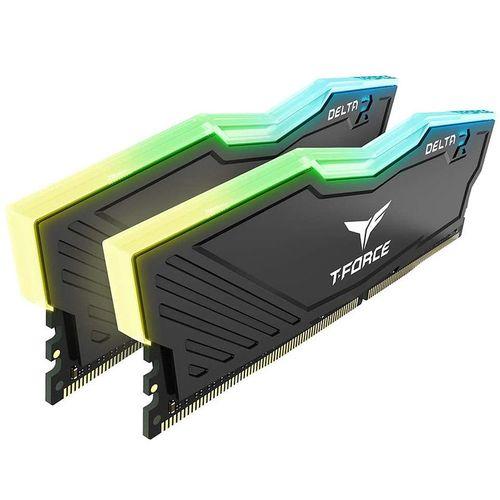 купить Оперативная память 32GB DDR4 Dual-Channel Kit Team Group T-Force Delta RGB TF3D432G3200HC16FDC01 32GB (2x16GB) DDR4 PC4-25600 3200MHz CL16, Retail (memorie/память) в Кишинёве