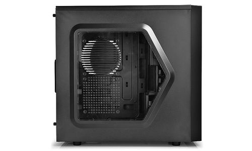 "купить DEEPCOOL ""TESSERACT SW"" ATX Case,  with Side-Window, without PSU, Massive metal mesh, Tool-less, 1x 120mm front Blue LED fan, 1x 120mm rear Blue LED fan, up to 3x 2.5"" HDD/SSD, Bottom loaded PSU, 1xUSB3.0, 1xUSB2.0 /Audio, Black в Кишинёве"