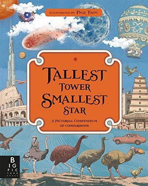 купить Самая высокая башня, самая маленькая звезда: наглядный сборник сравнений(eng) в Кишинёве