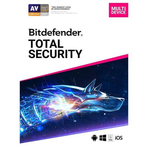 купить Bitdefender Total Security 12 months 5 Users в Кишинёве