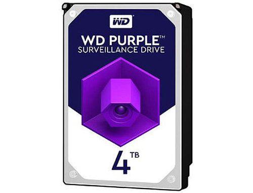 "купить 3.5"" HDD 4TB Western Digital Purple (Surveillance HDD) WD40PURZ, 5400 rpm, SATA3 6GB/s, 64MB (hard disk intern HDD/внутренний жесткий диск HDD) в Кишинёве"