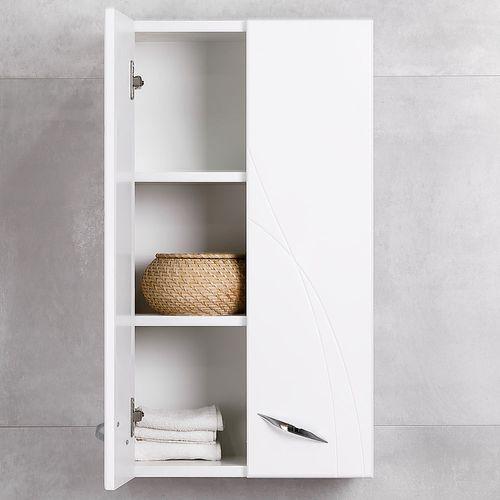 купить Premium Шкаф подвесной белый 400 в Кишинёве