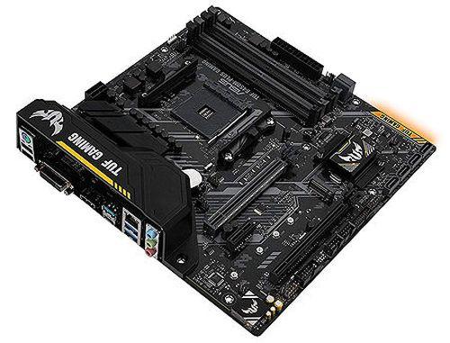 купить Материнская плата ASUS TUF B450M-PLUS GAMING AMD B450, AM4, Dual DDR4 3200MHz, 2xPCI-E 3.0/2.0 x16, HDMI/DVD-D, AMD CrossFireX, USB 3.1, USB Type-C, SATA RAID 6Gb/s, M.2 x4 Socket, SB 8-Ch., GigabitLAN, LED lighting, (placa de baza/материнская плата) в Кишинёве