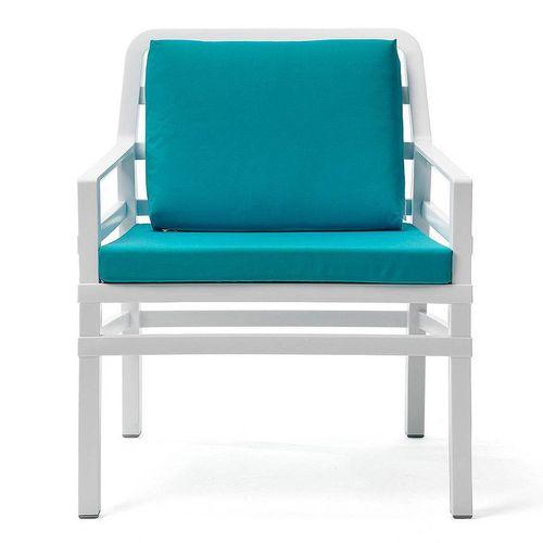 купить Кресло с подушками Nardi ARIA BIANCO sardinia 40330.00.072.072 (Кресло с подушками для сада и терас) в Кишинёве