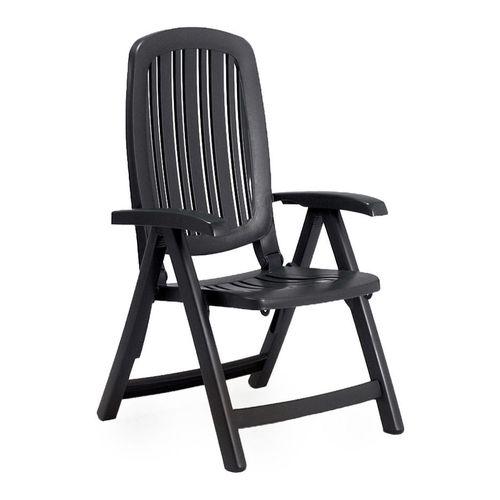 купить Кресло складное Nardi SALINA ANTRACITE 40290.02.000 (Кресло складное для сада и террасы) в Кишинёве