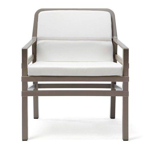 купить Кресло с подушками Nardi ARIA FIT TORTORA bianco 40330.10.155.FIT (Кресло с подушками для сада и терас) в Кишинёве