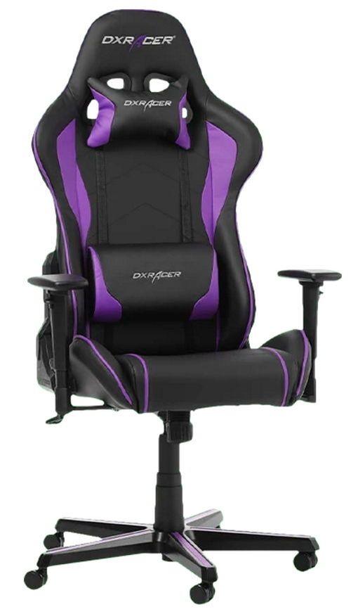 купить Gaming кресло DXRacer Formula GC-F08-NV-H1, Black/Violet в Кишинёве