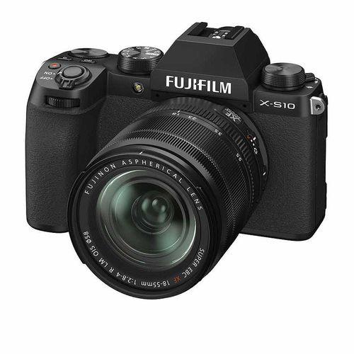 купить Fujifilm X-S10 black XF18-55mm Kit, Mirrorless Digital Camera Fujifilm X System (Aparat fotografic) в Кишинёве