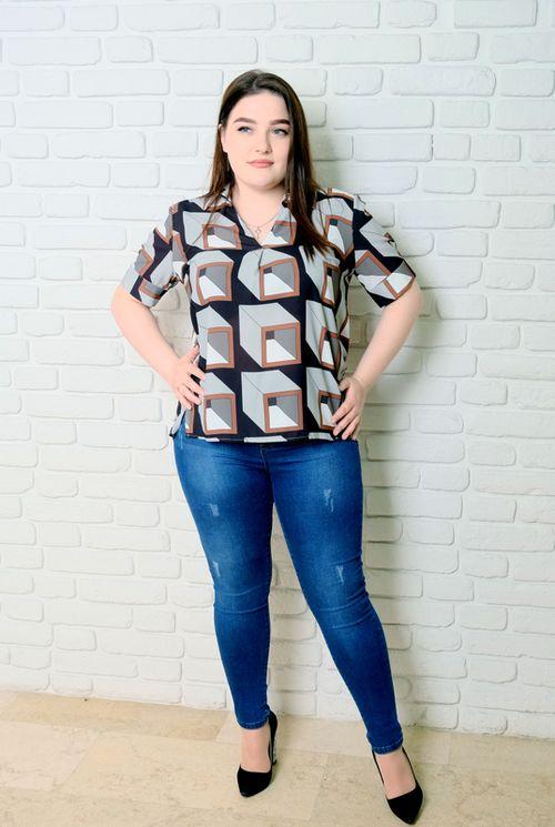 купить Блузка Simona ID 9651 в Кишинёве