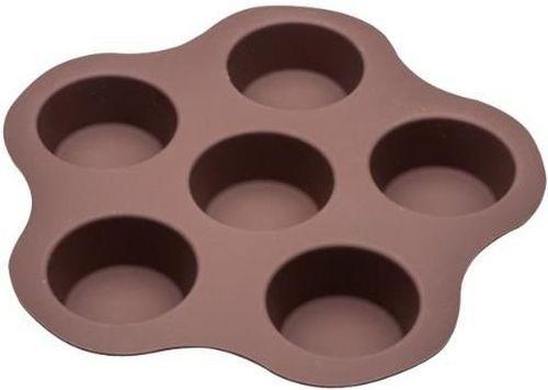 купить Форма для выпечки Pedrini 23049 На 6 кексов Dolci 26X25.5 cм,силикон в Кишинёве