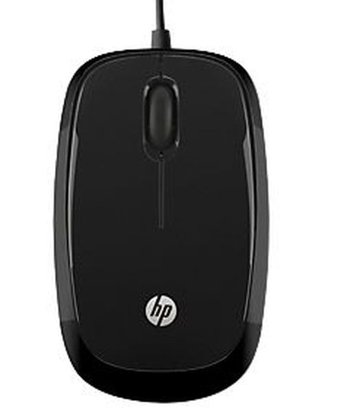 купить HP X1200 Wired Black Mouse в Кишинёве