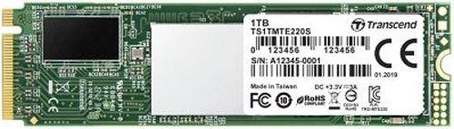 cumpără M.2 NVMe SSD 1TB Transcend 220S, Interface: PCIe3.0 x4 / NVMe1.3, M2 Type 2280 form factor, Sequential Reads 3500 MB/s, Sequential Writes 2800 MB/s, Read: 360,000 IOPS/ Write: 425,000 IOPS, DDR3 DRAM Cache, 3D NAND TLC în Chișinău
