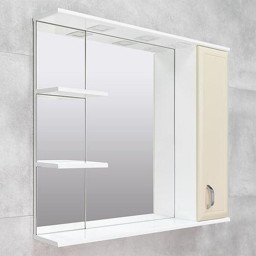 купить Allure Шкаф-зеркало беж 1000 R в Кишинёве