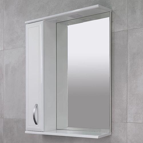 купить Allure Шкаф-зеркало белое 650 L в Кишинёве