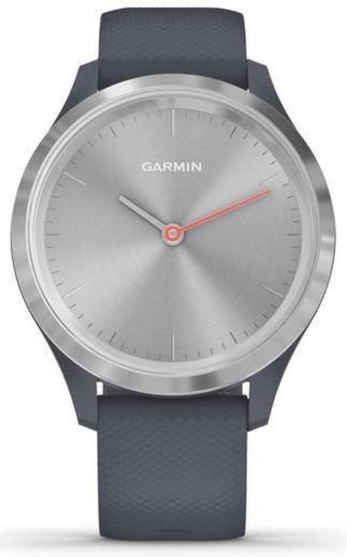 cumpără Fitness-tracker Garmin vivomove 3S, S/E EU, Silver, Granite Blue, Silicone în Chișinău