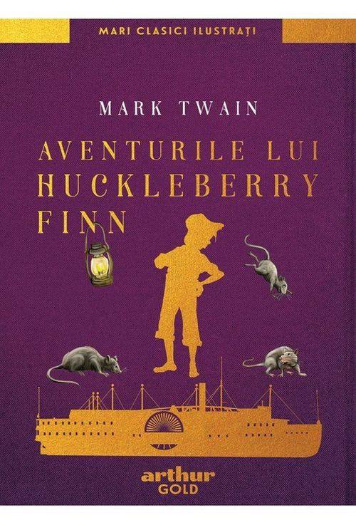 купить Aventurile lui Huckleberry Finn - Mark Twain в Кишинёве