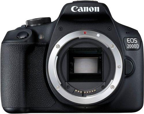 купить Фотоаппарат зеркальный Canon EOS 2000D 18-55 DC III Black (2728C007) в Кишинёве