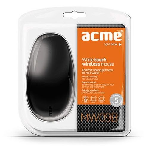 cumpără Mouse ACME MW09 Wireless, Black, USB în Chișinău