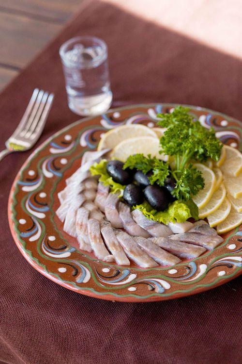 купить Филе сельди с лимоном и маслинами в Кишинёве