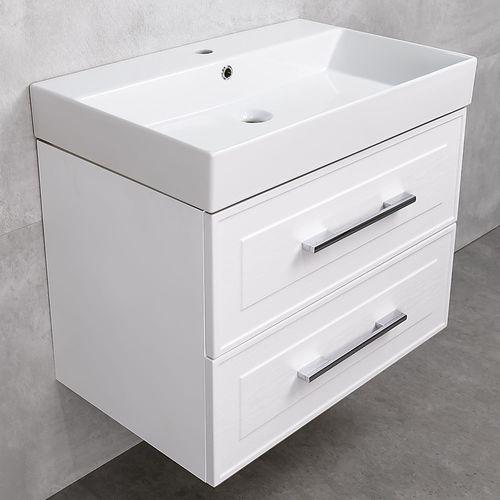 купить Porto Шкаф белый структурный под умывальник Stance 700 Подвесной в Кишинёве