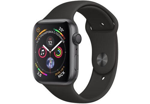 купить Apple Watch Series 4 MU6D2 Black Sport Band 44mm, Space Gray в Кишинёве