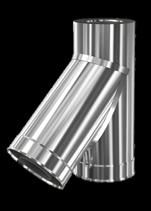 купить Ø 200 - 280 Тройник дымоходный  45° (430 - 304) в Кишинёве