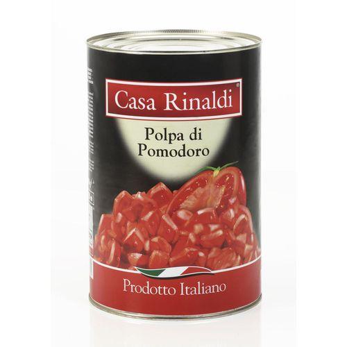 """cumpără """"Polpa di pomodoro"""" Roșii taiate in suc propriu. 400gr. Casa Rinaldi. ITALIA în Chișinău"""