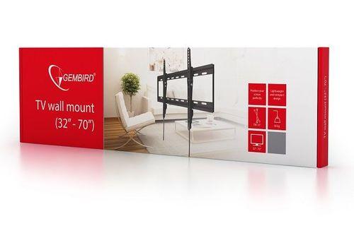 "купить TV-Wall Mount for 32-70""- Gembird ""WM-70T-01"", Tilt, max. 50 kg, Tilting angle 15°, Distance TV to Wall: 40 mm, max. VESA 600 x 400, Black в Кишинёве"