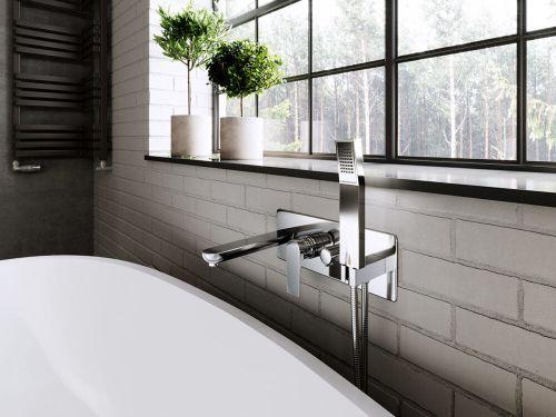 Смеситель для душа Ferro Square BAQ11P (ванная комната)