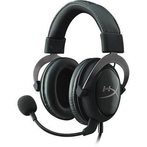 купить HyperX Cloud II Headset, Metal, Solid aluminium build, Microphone: detachable, USB Surround Sound 7.1, Frequency response: 15Hz–25,000 Hz, Cable length:1m+2m extension, 3.5 jack, Pure Hi-Fi capable, Braided cable, Durable travel pouch в Кишинёве
