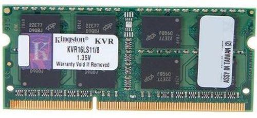 cumpără 8GB DDR3-1600 SODIMM  Kingston ValueRam, PC12800, CL11,  1.35V în Chișinău
