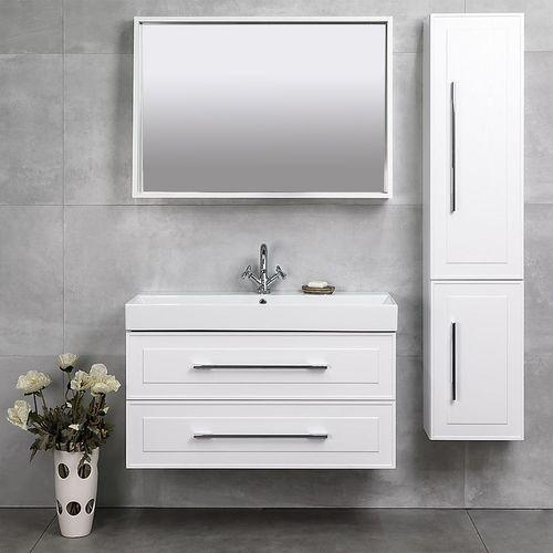 купить Porto Шкаф белый структурный под умывальник Stance 980 Подвесной в Кишинёве