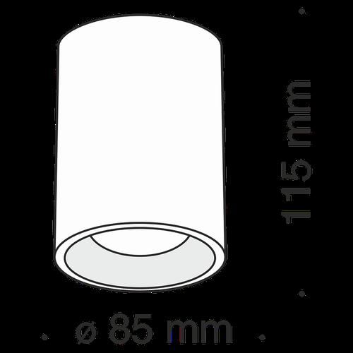 купить Спот накладной C012CL-01B в Кишинёве