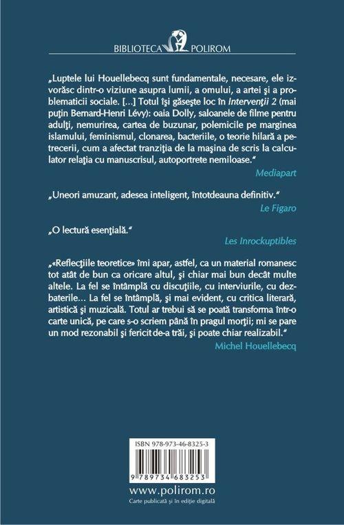 купить Intervenții 2. Urme - Michel Houellebecq в Кишинёве
