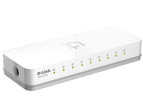 купить D-Link DES-1008C/A1B, 8-port UTP 10/100Mbps Auto-sensing, Stand-alone, Unmanaged, Palm-top Fast Ethernet Switch (retelistica switch/сетевой коммутатор) в Кишинёве