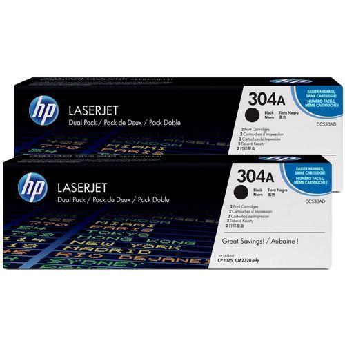 cumpără HP №304A Pack of 2 Black Cartridges, LJ CP2025 / CM2320, ColorSphere Toner, 3500 pages per cartridge în Chișinău