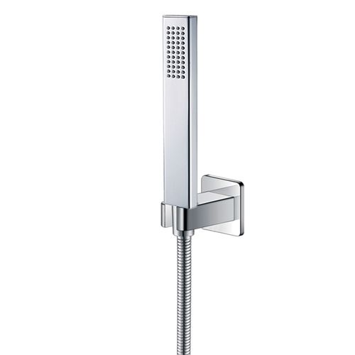 GRAFIKY набор душевой (ручной душ 1 режим, шланг, держатель), хром (ванная комната)