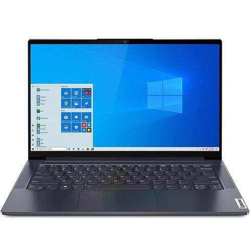 "купить Ноутбук 14.0"" Lenovo Yoga Slim 7 14ARE05 Slate Grey, AMD Ryzen 5 4500U 2.3GHz-4.0GHz/8GB PC4-25600/SSD 512GB/AMD Radeon Graphics/WiFi  802.11ax/ Bluetooth/ HDMI/ Card Reader/ HD Webcam/ Illuminated Keyboard/ 14.0"" IPS FHD (1920x1080) Non-glare/Windows 10 Home RU в Кишинёве"