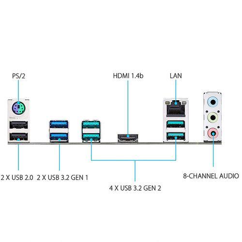 купить Материнская плата ASUS PRIME X570-P AMD X570, AM4, Dual DDR4 5100MHz, 1xPCI-E 4.0 x16, 1xPCI-E 3.0 x16, HDMI 2.1, USB 3.2, SATA RAID 6Gb/s, 2xM.2 x4 Socket, 64Gb/s PCIe 4.0 x4, SB 8-Ch., Gigabit LAN, Aura Sync RGB (placa de baza/материнская плата) в Кишинёве
