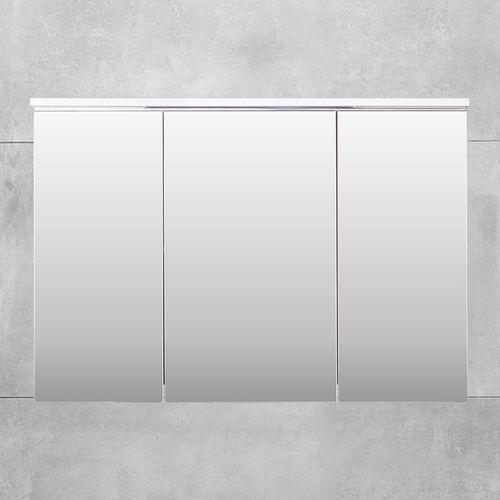 купить Шкаф-зеркало Dorado белый структурный Led 1000 в Кишинёве
