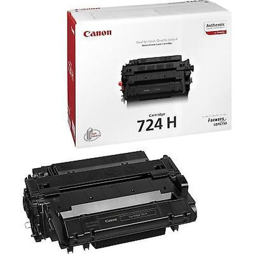купить Laser Cartridge Canon 724H, black (12000 pages) for for MF512X в Кишинёве