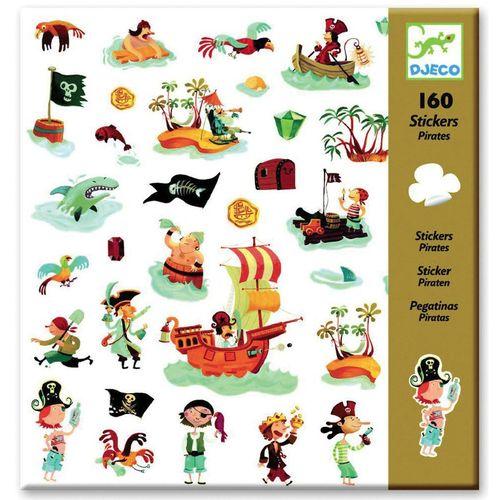 купить Pirates Stickers by Djeco в Кишинёве