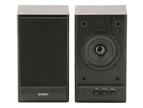 купить Active Speakers SVEN SPS-607 Black, RMS 6W, 2x3W, дерево (boxe sistem acustic/колонки акустическая сиситема) в Кишинёве